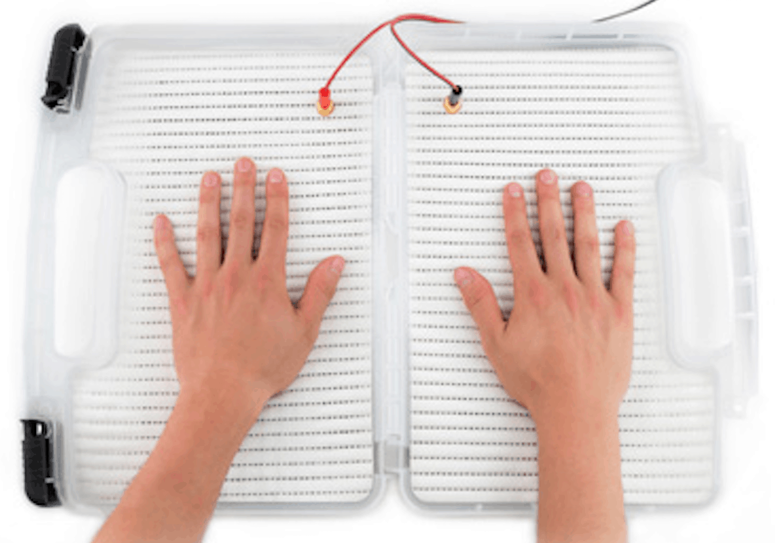 Iontophoresis hyperhidrosis treatment